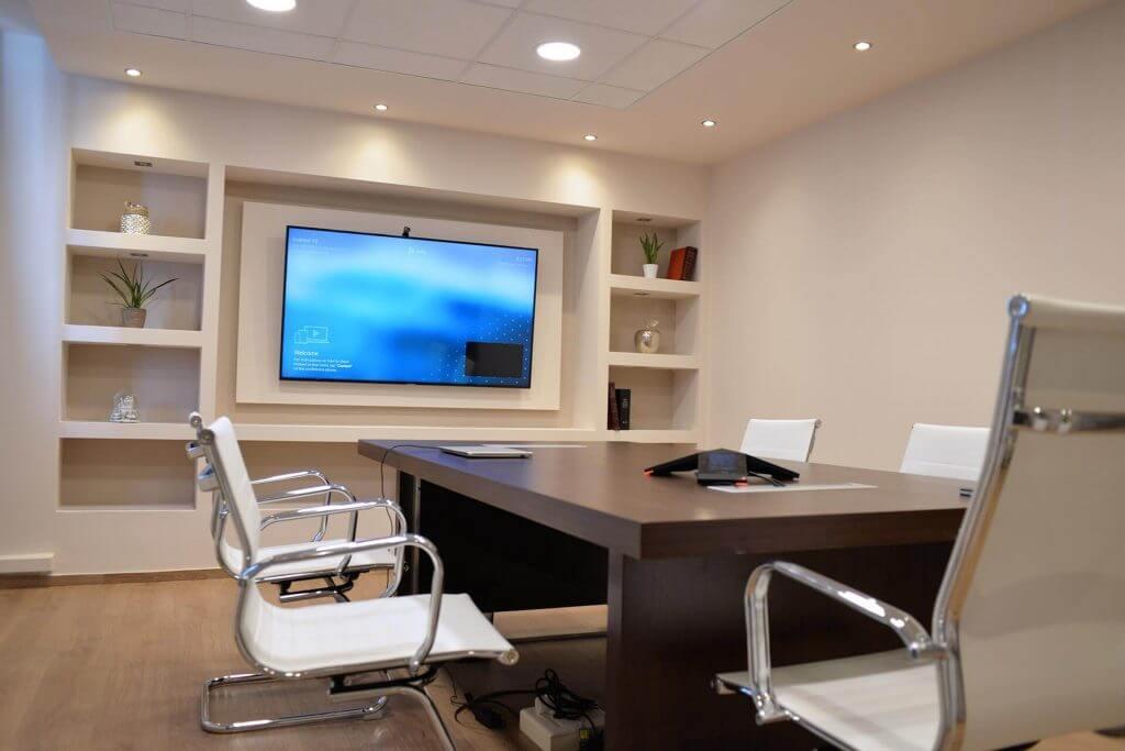 Το γραφείο που διατηρούν οι σύμβουλοι επιχειρήσεων SLBL